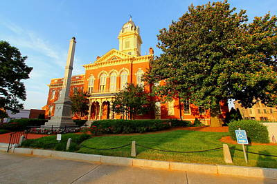 Photograph - Union County Court House 10 by Joseph C Hinson Photography