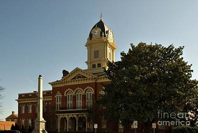 Photograph - Union County Courthouse Nc by Bob Pardue