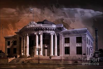 Mixed Media - Union Courthouse South Carolina Usa by Bob Pardue