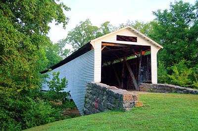 Photograph - Union Covered Bridge by Cricket Hackmann