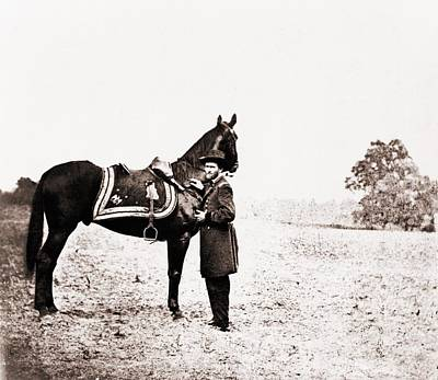 Bsloc Photograph - Union General Ulysses S. Grant by Everett