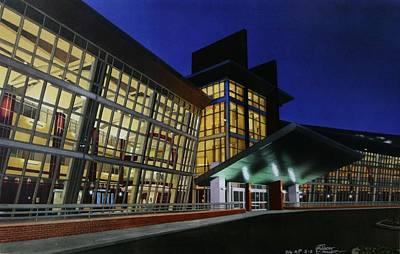 Union Hospital Of Terre Haute Art Print