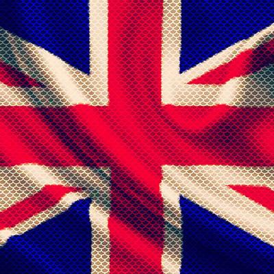 Great Britain Mixed Media - Union Jack by Brandi Fitzgerald