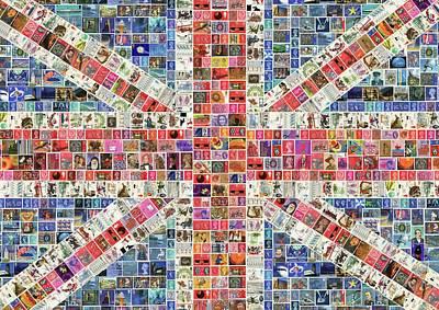 Union Jack Digital Original by Gary Hogben