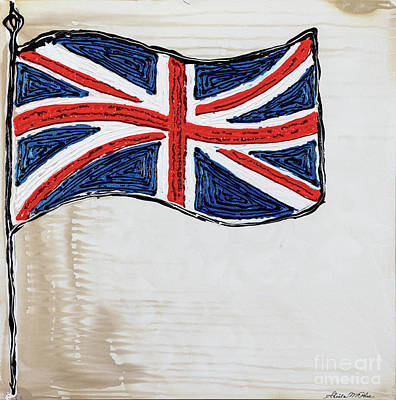 Painting - Union Jack by Sheila McPhee