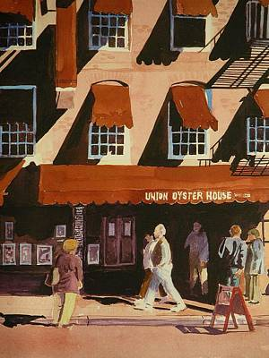Union Oyster House Of Boston Art Print by Walt Maes