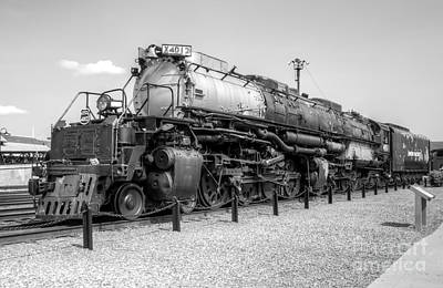 Photograph - Union Pacific 4012 by Anthony Sacco