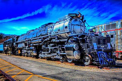 Photograph - Union Pacific Big Boy by Dale R Carlson