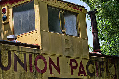 Photograph - Union Pacific Caboose Crow's Nest by Alana Thrower