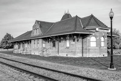 Photograph - Union Pacific Depot by James Barber