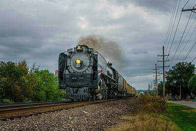 Photograph - Union Pacific Engine 844 -- 7r2_dsc1929_16-10-18 by Greg Kluempers