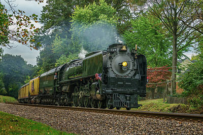 Photograph - Union Pacific Engine 844 -- 7r2_dsc1956_16-10-18 by Greg Kluempers