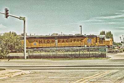 Union Pacific Art Print by Kyzer Kane