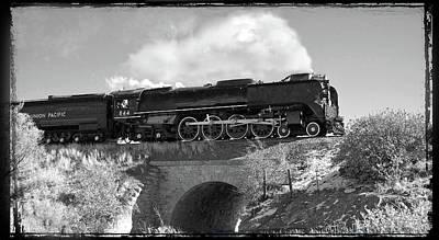 Union Pacific 844 Photograph - Union Pacific Number 844 by Larry McManus