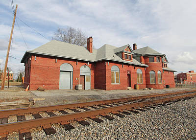 Photograph - Union, Sc Southern Railway Station 2 by Joseph C Hinson Photography