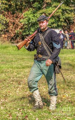 Union Sergeant Civil War Art Print