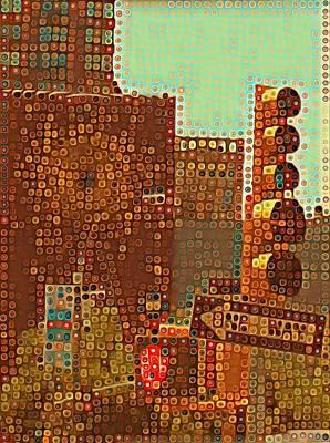 Union Square Bubbles Art Print