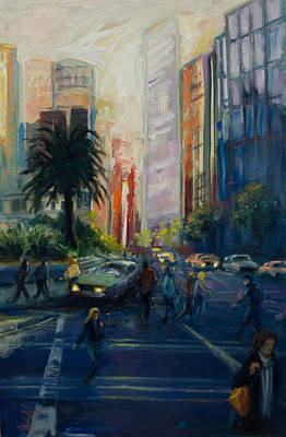 Painting - Union Square by Rick Nederlof
