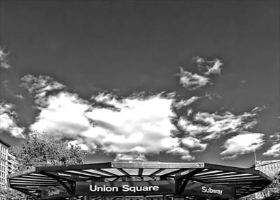 Union Square Subway Station Nyc Print by Robert Ullmann