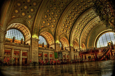 Washington D.c Photograph - Union Station - Dc by Frank Garciarubio