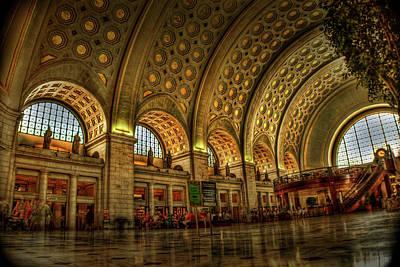 Washington D.c Photograph - Union Station - Dc by Frank Garciarubio