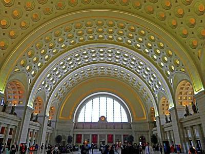 Union Station 12 Art Print