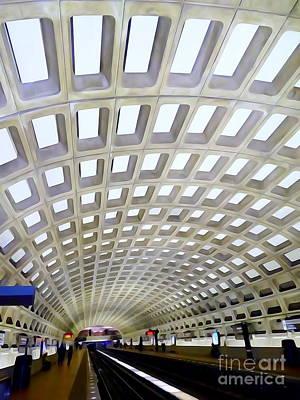 Digital Art - Union Station Beauty #4 by Ed Weidman