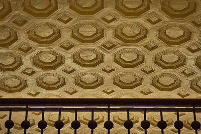 Photograph - Union Station Ceiling #2 by Stuart Litoff