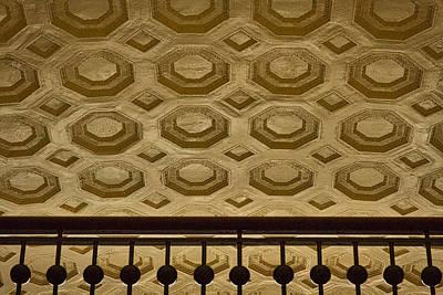 Photograph - Union Station Ceiling #2 by Stuart Litoff