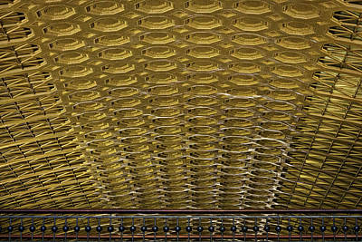 Photograph - Union Station Ceiling by Stuart Litoff