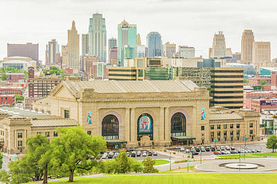 Union Station Photograph - Union Station Kansas City by Pamela Williams