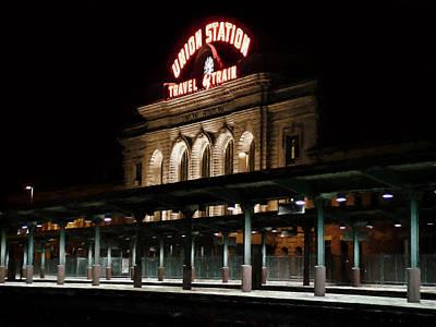 Union Station Denver Colorado Art Print