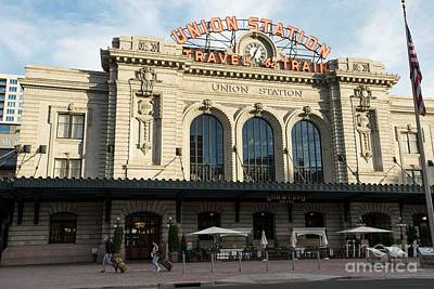 Photograph - Union Station - Denver by David Bearden