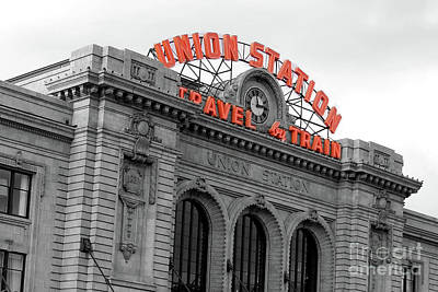 Photograph - Union Station - Denver - Doc Braham - All Rights Reserved by Doc Braham