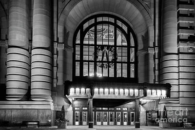 Photograph - Union Station Holiday by Dennis Hedberg