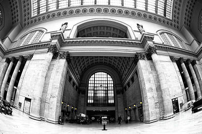 Photograph - Union Station Interior Fusion by John Rizzuto
