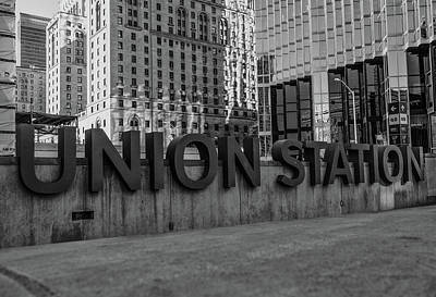 Photograph - Union Station by James Canning