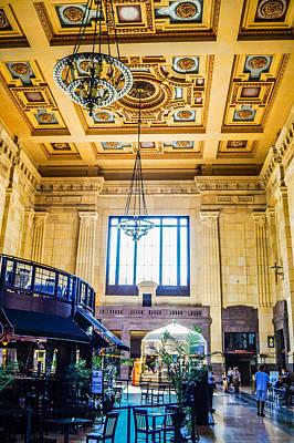 Its A Piece Of Cake - Union Station Kansas City by Craig David Morrison