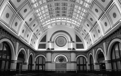 Union Station Lobby Photograph - Union Station by Kristin Elmquist