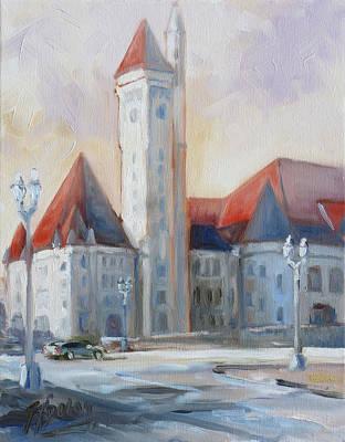 Painting - Union Station - Morning Light by Irek Szelag