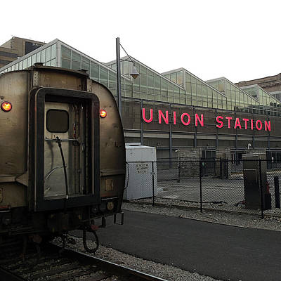 Photograph - Union Station Morning by Ron Dubin