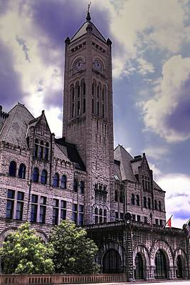 Photograph - Union Station Nashville Tennessee by Carol Montoya