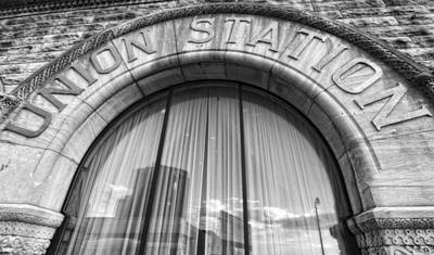 Nashville Skyline Photograph - Union Station Nashville Tennessee by Dan Sproul