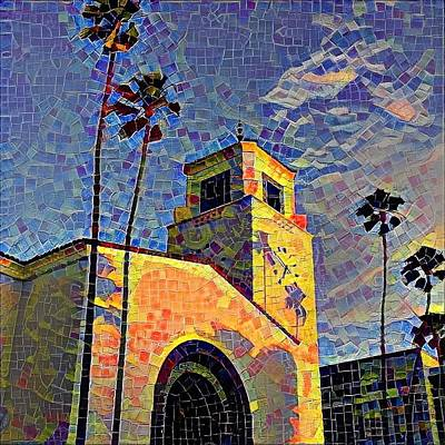 Digital Art - Union Station by Sarah Vandenbusch