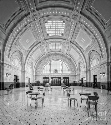 Photograph - Union Station Seattle Bw by Jerry Fornarotto
