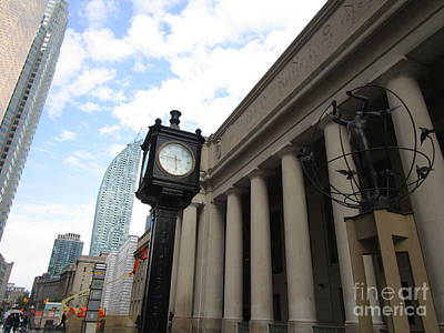 Photograph - Union Station Toronto 1 by Randall Weidner