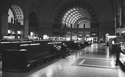 Photograph - Union Station, Washington Dc 1963 by Library Of Congress
