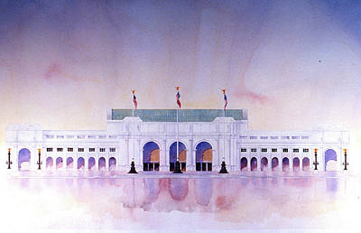 Painting - Union Station by William Renzulli