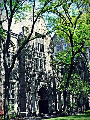 Photograph - Union Theological Seminary 1 by Sarah Loft