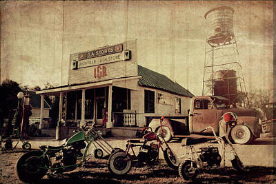 Art Print featuring the photograph Unionville Genral Store by Joel Witmeyer